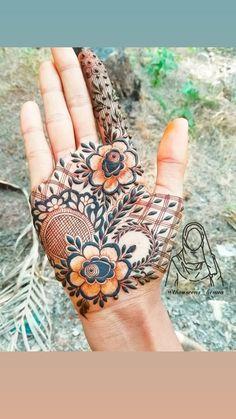 #hennatattoo #henna #mehndidesign #mehndi Floral Henna Designs, Basic Mehndi Designs, Mehndi Designs Feet, Henna Art Designs, Mehndi Designs For Beginners, Mehndi Design Pictures, Mehndi Designs For Girls, Wedding Mehndi Designs, Dulhan Mehndi Designs