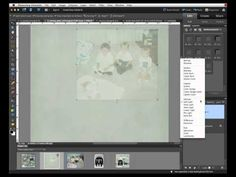 Digital Scrapbook Tutorial - Blending Photos.mp4 by Chelle's Creations