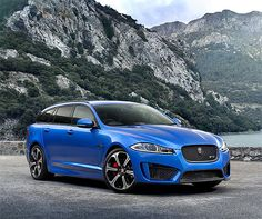 Jaguar XFR-S Sportbrake who's mom picks them up from school in this bad boy.