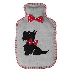 Hot Water Bottle Cover I would use my hot water bottle if I had a cute cover like this. ;)