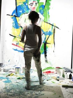 Lucy Liu is also an artist. She's been working under the pseudonym Yu Ling to not let acting interfere with her art.