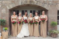 Golden girls - gold bridesmaid dresses #sequins - Wedderburn Barns Gold Bridesmaid Dresses, Wedding Dresses, Boho Wedding, Rustic Wedding, Entertainment Room, Entertainment System, Love Photography, Wedding Photography, Barn Parties