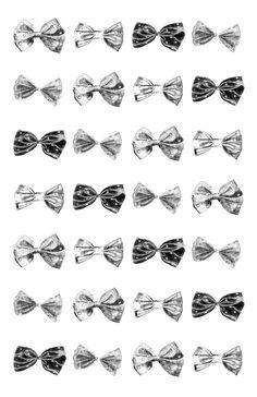 Hair Bow Pattern by Libby Herskovitz, via Behance
