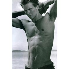 Sambag's Blog -- Abercrombie and Fitch model Maxwell Zagorski , Hot... ❤ liked on Polyvore