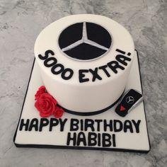 Mercedes Benz Cake