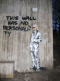 A wall in Aspudden, Sweden.                   The U.S. needs more walls like this.