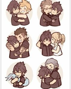 Noctis's family and friends