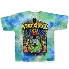 Woodstock - Woodstock Music Festival T Shirt on Sale for $24.95 at HippieShop.com