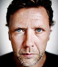 Nice portrait of swedish actor Mikael Persbrandt.