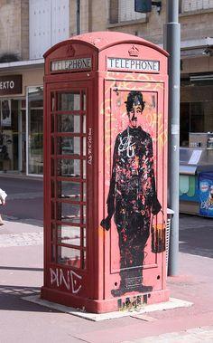 Chaplin. Caen (France). #Guerrilla #Marketing