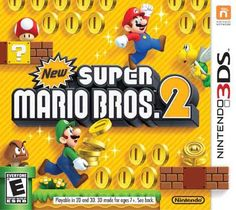 Super Mario Bros 2 (Nintendo Brand New! Super Mario Bros 2 game is brand new factory sealed, never been opened or used - see photos, for ni. Super Mario Brothers, Mario Bros 3, Mario Und Luigi, New Super Mario Bros, Super Smash Bros, Super Mario Games List, Nintendo 2ds, Super Nintendo, Nintendo 3ds Games
