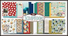 The ScrapRoom Blog - NOVEMBER FLAVORS OF THE MONTH KIT #scraproomkits #scrapbookkits #scrapbook