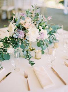 Featured Photographer: Blue Rose Pictures; wedding centerpiece idea