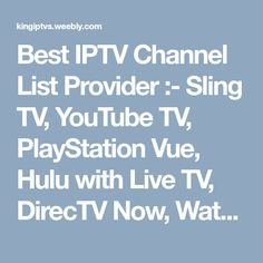 34 Best IPTV Channel Provider Online images in 2018   Tv channels