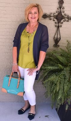 50 IS NOT OLD | WHITE AFTER LABOR DAY | Navy & White | Accessories | Fashion over 40 for the everyday woman