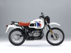 Have to have a dirt or dual purpose bike. How about an 800cc BMW R80GS to…