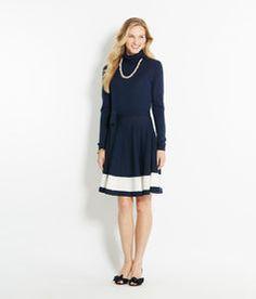 Shop Dresses: Merino Cowlneck Sweater Dress for Women | Vineyard Vines