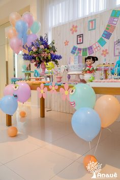 2nd Birthday Party For Girl, Second Birthday Ideas, Monster Inc Party, Monster Birthday Parties, Gold Party Decorations, Birthday Party Decorations, Monsters Inc Decorations, Monsters Inc Baby Shower, Festa Party