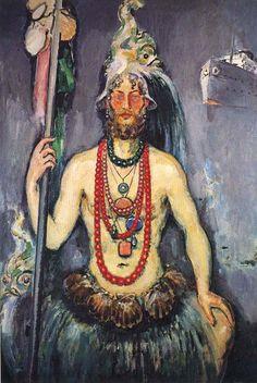 Kees van Dongen, Self-portrait as Neptune, 1922 (Centre Georges Pompidou, Paris).