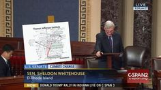 Who: Senator Sheldon Whitehouse (D-Rhode Island)  When: July 2016  What: Climate change  Watch on C-SPAN  Read Congressional Record