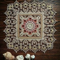 Image may contain: 1 person, indoor Crochet Art, Crochet Home, Thread Crochet, Filet Crochet, Crochet Motif, Vintage Crochet, Crochet Designs, Crochet Doilies, Crochet Tablecloth Pattern
