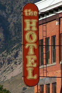 ~The Hotel, Brigham City Utah by slzgg, via Flickr~
