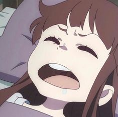 Little Wich Academia, My Little Witch Academia, Manga Girl, Anime Meme Face, Anime Expressions, Really Funny Memes, Cute Anime Pics, Anime Profile, Mood Pics