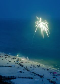 Fireworks at the beach!