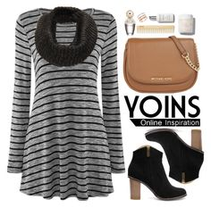 """Yoins.com"" by oshint ❤ liked on Polyvore featuring MICHAEL Michael Kors, EF Collection, Marc Jacobs and yoins"