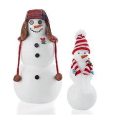 Make and customize your own Merry Miniatures Snowman with these easy steps