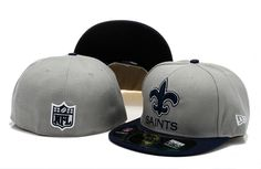 New Era NFL Topp'd Up Denim 59FIFTY Cap And Hats New Orleans Saints Fitted Hats