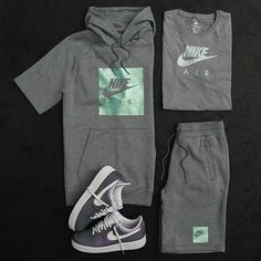 Fresh from head to toe. Shop the latest from Nike at Jimmy Jazz peng asf Swag Outfits Men, Tomboy Outfits, Tomboy Fashion, Dope Outfits, Athletic Outfits, Casual Outfits, Mens Fashion, Fashion Outfits, Outfit Grid
