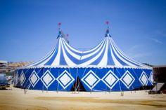 A circus tent.
