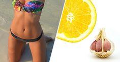 Napar z czosnku i cytryny pomoże Ci schudnąć i mieć płaski brzuch!