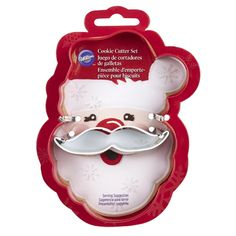 Wilton® 2-Pc. Christmas Santa Face Cookie Cutter Set