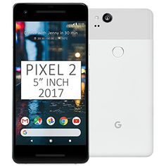 "Pixel 2 Phone (2017) by Google, G011A 64GB 5"" inch Factory Unlocked Android 4G/LTE Smartphone (Clearly White) - International Version 5.0"" inch, AMOLED capacitive touchscreen, 16M colors, 1080 x 1920 pixels, Corning Gorilla Glass 5 Network Compatibility : 2G GSM 850 / 900 / 1800 / 1900 and/or 3G 850(B5) / 900(B8) / 1700