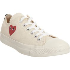 PLAY by Comme des Garçons Chuck Taylor Low Top at Barneys.com