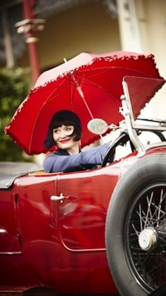 Essie Davis as Miss Fisher