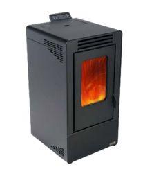 Kominek na pellet NEVIS 7 kW antracyt Home Appliances, Wood, House Appliances, Woodwind Instrument, Timber Wood, Appliances, Trees
