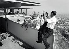Julius Shulman, world renowned photographer of 20th century.