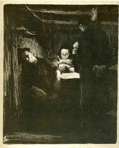 Kathe Kollwitz, Death, 1893-1897