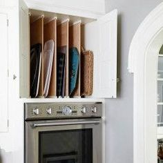 flat pan cabinet - like Mama's