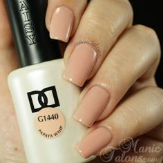 Omg I need 10 bottles of this's sap!!Daisy Duo Papaya Whip 1440 Swatch. Source www.manictalons.com