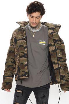 Mens Activewear, Puffer Jackets, Ripped Jeans, Camouflage, Military Jacket, Windbreaker, Street Wear, Bomber Jacket, Mens Tops
