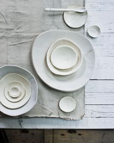 Soft hued ceramics