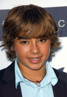 Boys Medium Length Hair Cuts | Jansen Panettiere with Retro Teen Boy's Hairstyle