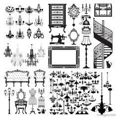 4-Designer | European home vector material