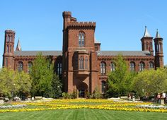 Smithsonian Castle - With over a dozen Smithsonian Museums in Washington DC, most of which I've visited, one of the most interesting is the original Smithsonian Institution Building (Castle).  It now houses the Smithsonian Information Center and administrative offices.