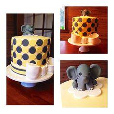 Baby shower cake elephant Baby Shower Cakes, Elephant, Desserts, Food, Meal, Deserts, Essen, Elephants, Hoods