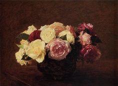 Roses, 1894 - Henri Fantin-Latour